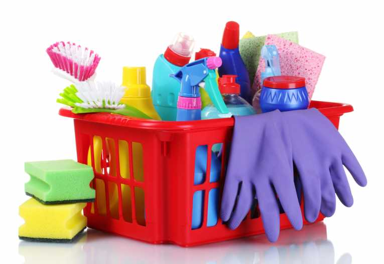 Toxins in traditional cleaning products can be dangerous for your family