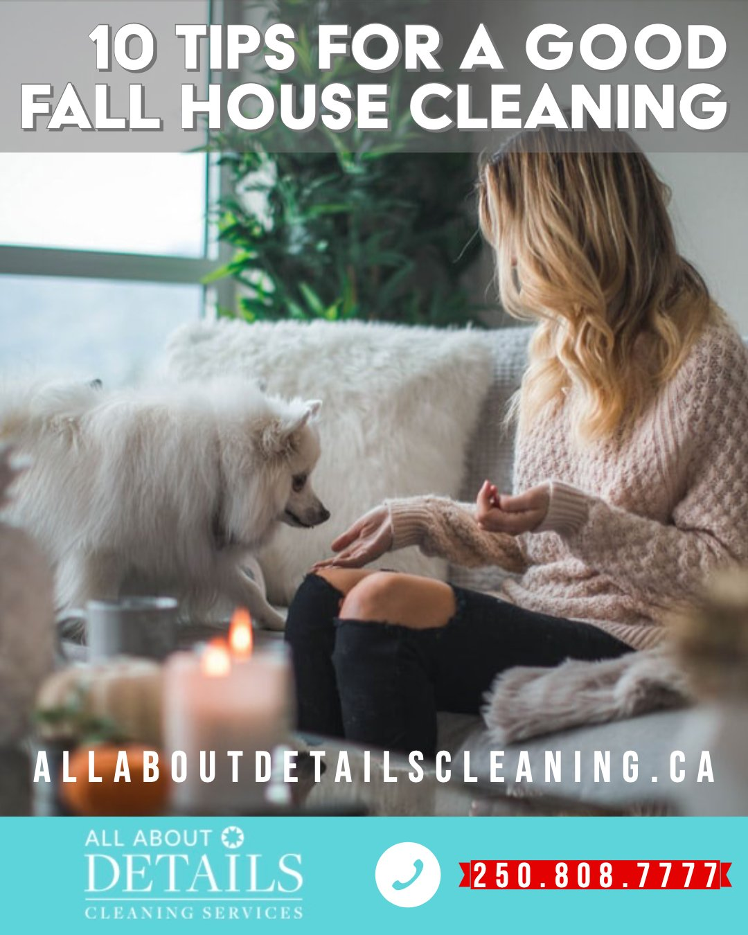 10 Tips For A Good Fall House Cleaning